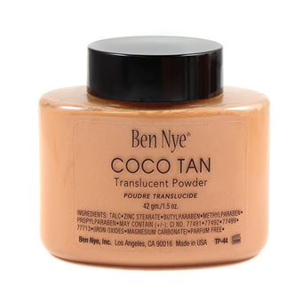 Ben Nye Classic Translucent Face Powder Coco Tan -  | Camera Ready Cosmetics - 1