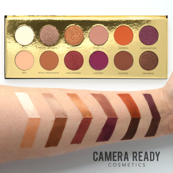 Coloured Raine Queen Of Hearts Eyeshadow Palette Camera