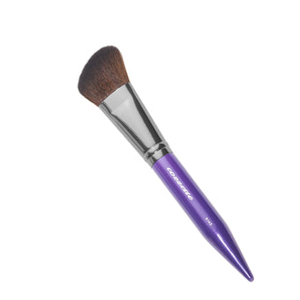 alt Cozzette Brushes for Face S145 Perfect Contour Brush (Purple)