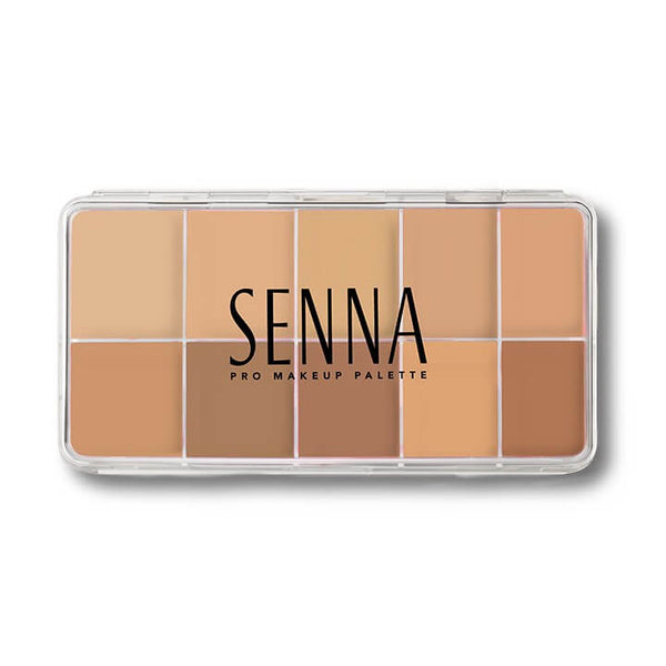 alt Senna Slipcover Cream to Powder Foundation Palette Foundation 1: Light-Mediun