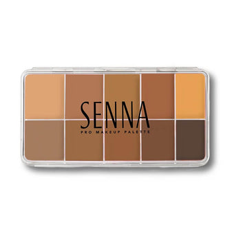 alt Senna Slipcover Cream to Powder Foundation Palette Foundation 2: Medium-Dark