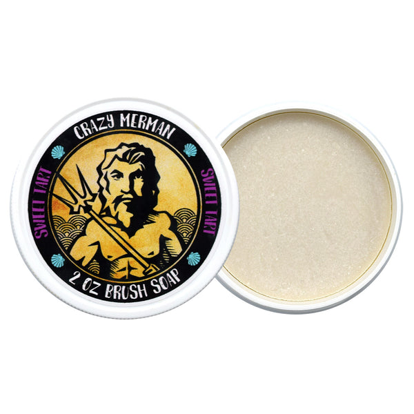 alt Crazy Merman - Brush Soap Sweet Tart 2.0 oz