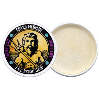 alt Crazy Merman - Brush Soap Sweet Tart 4.0 oz