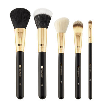 alt BH Cosmetics | Face Essential - 5 Piece Brush Set