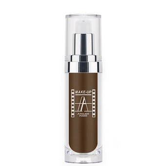 alt Make-Up Atelier Waterproof Foundation Dark Ebony FLWTN8