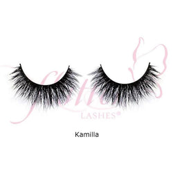 alt Flutter Mink Double Layer Lashes Kamilla
