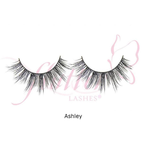 alt Flutter Mink Dramatic Lashes Ashley