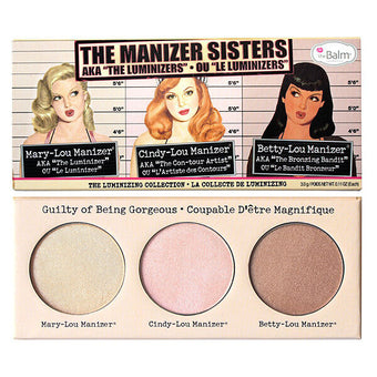 "The Balm Cosmetics The Manizer Sisters AKA The ""Luminizers"" 