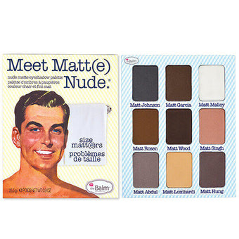 alt The Balm Cosmetics - Meet Matt(e) Nude - Nude Matte Eyeshadow Palette