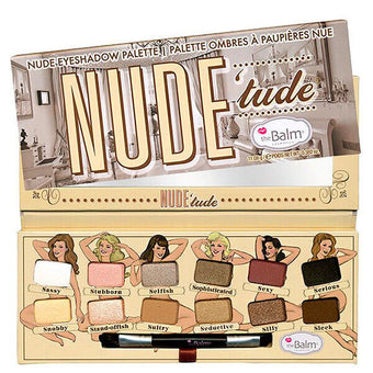 "alt The Balm Cosmetics  - ""Nude 'Tude"" Nude Eyeshadow Palette"