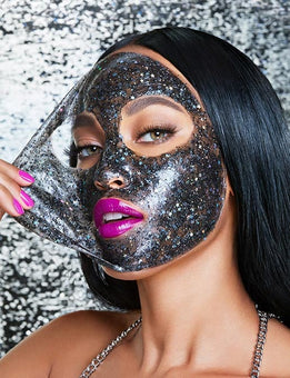 alt GlamGlow #Glittermask GravityMud Firming Treatment Mask
