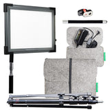 "alt The Makeup Light - Key Light 2.0 Starter Kit ""Original"" With Stand Graphite"