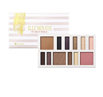 BH Cosmetics Illuminate By Ashley Tisdale: Night Goddess-12 Color Eye & Cheek Collection