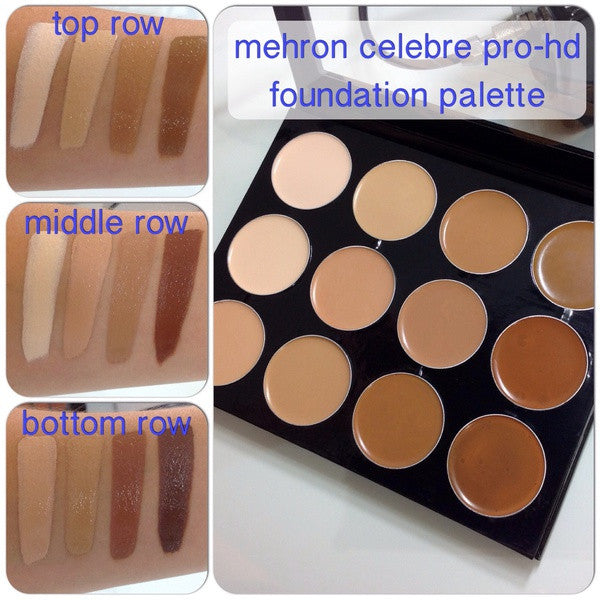Mehron Celebre Pro-HD 12-Color Palette (Small Palette) (Limited Quantity) -  | Camera Ready Cosmetics - 3