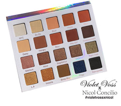 Violet Voss Nicol Concilio Eye Shadow Palette