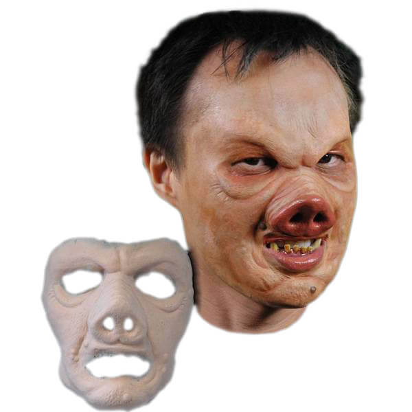 Stage Frights Foam Latex Prosthetic Pervis Pig Mask