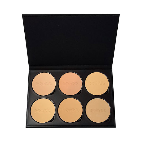 alt Kett Fixx Powder Foundation Pro Palette Light - Medium