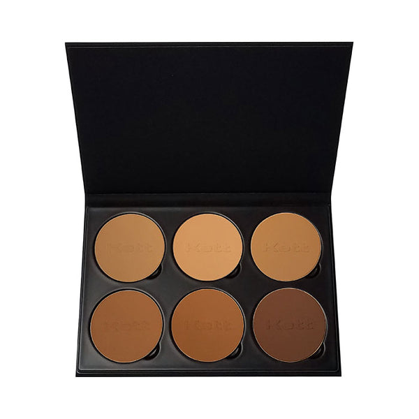 alt Kett Fixx Powder Foundation Pro Palette Tan - Deep