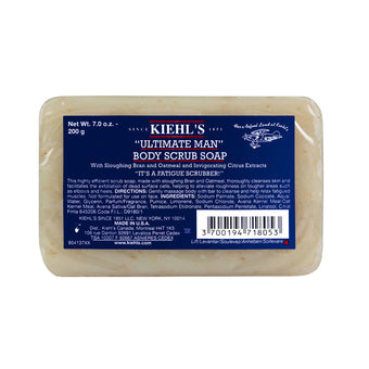 "alt Kiehl's Since 1851 ""Ultimate Man"" Body Scrub Soap"