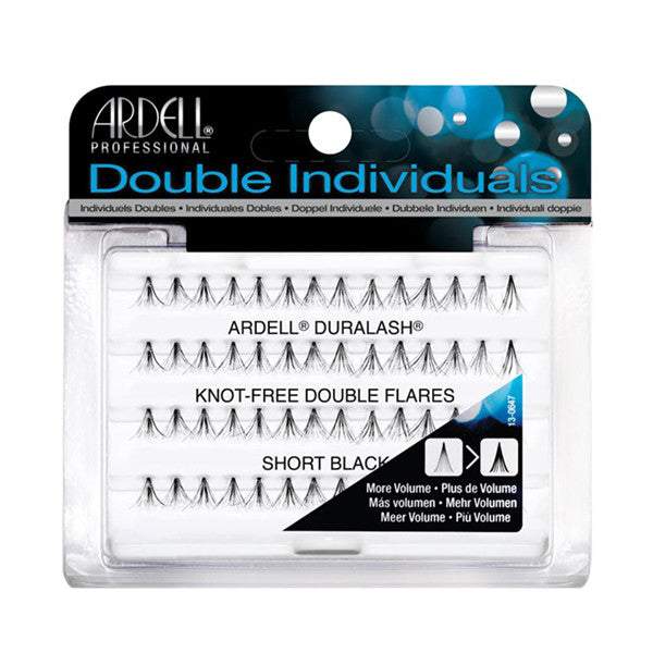 Ardell Double Individuals Short Black Knot-Free (61484)  | Camera Ready Cosmetics