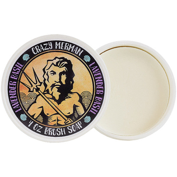 ALT - Crazy Merman - Brush Soap Lavender Basil - Camera Ready Cosmetics