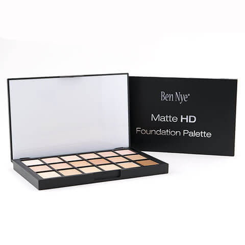 alt Ben Nye Matte HD Foundation Palette - 18 Colors