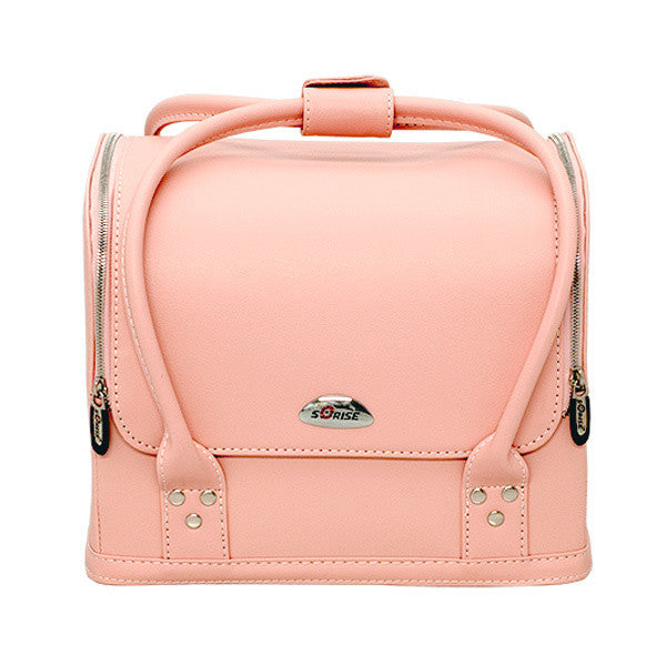 JUST CASE - ROLL TOP MAKEUP CASE C3025 (USA ONLY) - Plain Pink (C3025PPPK) | Camera Ready Cosmetics - 6