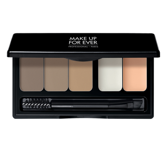 alt Make Up For Ever Pro Sculpting Brow Palette Harmony 1 - light (17101)