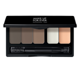 alt Make Up For Ever Pro Sculpting Brow Palette Harmony 2- dark (17102)