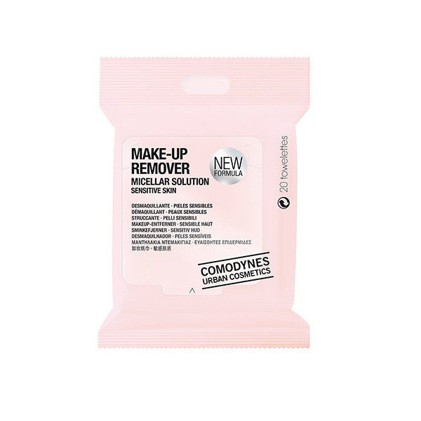 Comodynes Micellar Makeup Remover Wipes for Sensitive Skin -  | Camera Ready Cosmetics