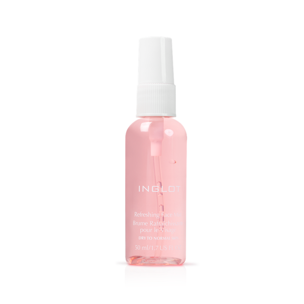 Inglot Refreshing Face Mist - Dry to Normal Skin | Camera Ready Cosmetics - 2