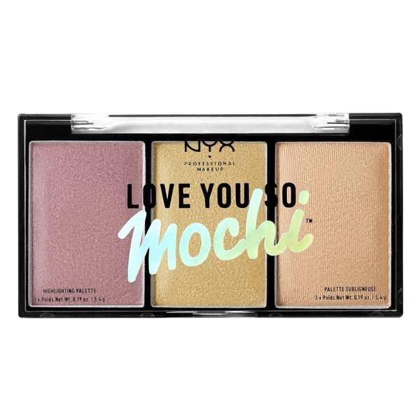 alt NYX Love You So Mochi Highlighting Palette Lit Life (Warm Tones)