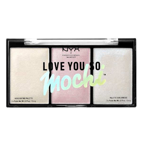 alt NYX Love You So Mochi Highlighting Palette Arcade Glam (Cool Tones)