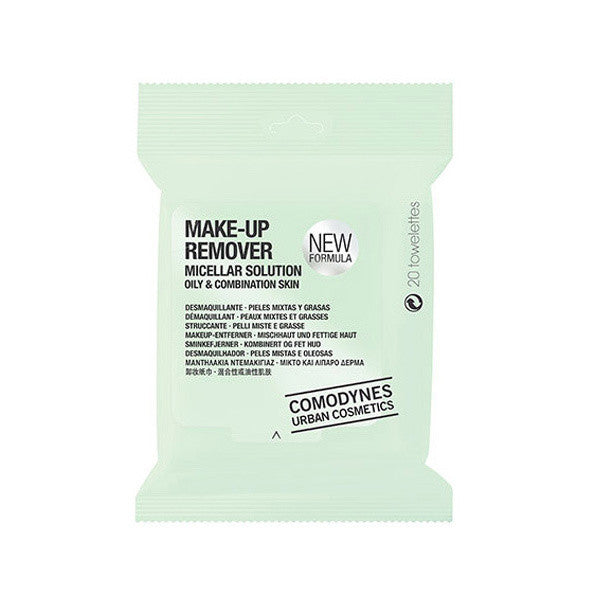 Comodynes Micellar Makeup Remover Wipes for Oily & Combination Skin -  | Camera Ready Cosmetics