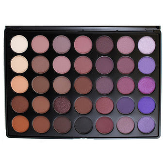 Morphe 35P - 35 Color Plum Eye Shadow Palette -  | Camera Ready Cosmetics - 1