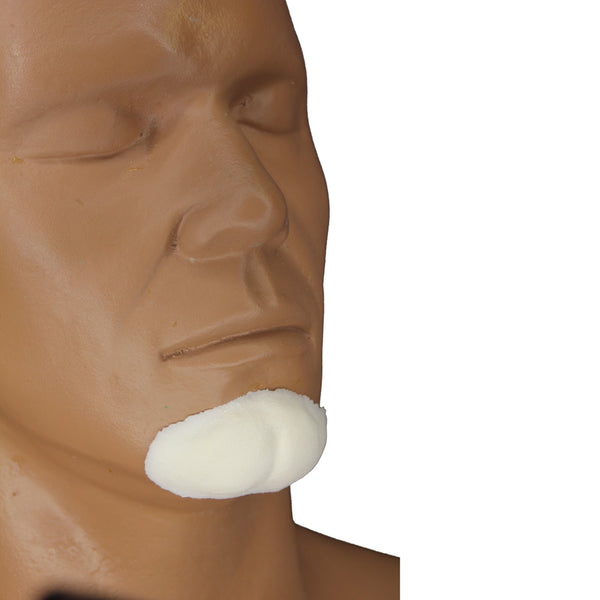alt Rubber Wear Cleft Chin Foam Latex Prosthetic Large (FRW-017)