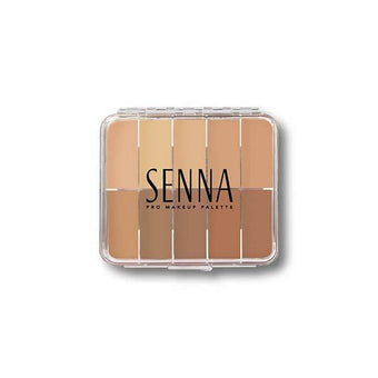 alt Senna Mini SlipCover Cream to Powder Foundation Palette Light-Medium (Mini)