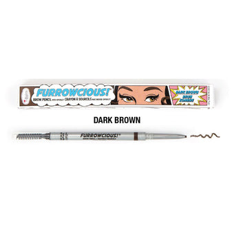 alt The Balm Furrowcious Eyebrow Pencil Dark Brown