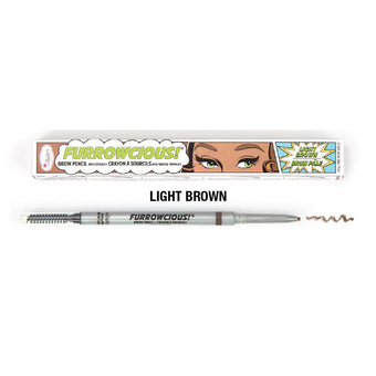 alt The Balm Furrowcious Eyebrow Pencil Light Brown