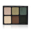 alt Viseart 6-Color Eyeshadow Palette - Theory Palette 06 Absinthe