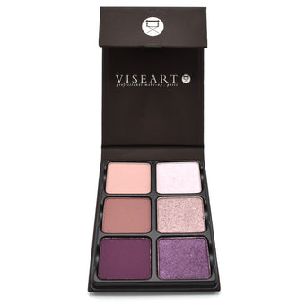 alt Viseart 6-Color Eyeshadow Palette - Theory Palette 04 Amethyst