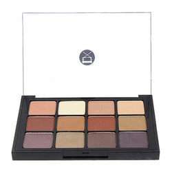 alt Viseart 12-Color Eyeshadow Palette - 06 Paris Nudes