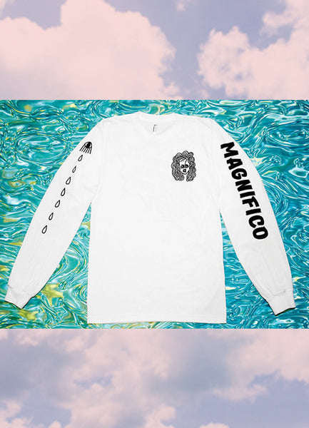 WORRIED GIRLS CLUB TEE<BR>BY MAGNIFICO