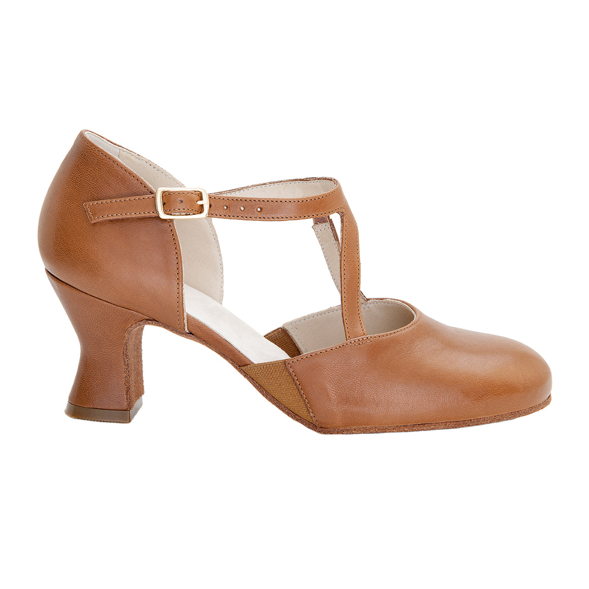 "Alexis 2.5"" Soft Sole - Cinnamon"