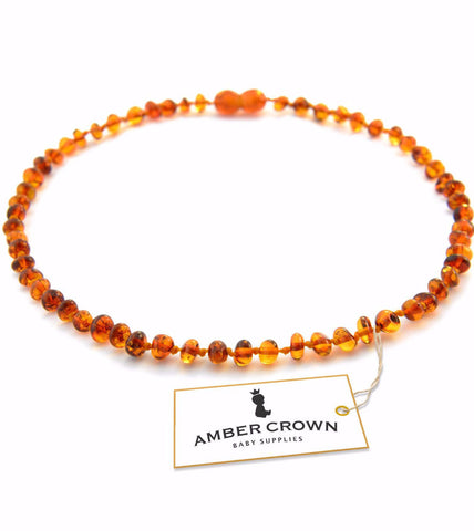 Amber Teething Necklace (Honey)