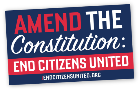 End Citizens United Sticker Collection (Set of 3)