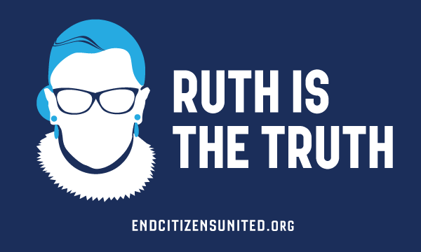 Ruth is the Truth Sticker (Set of 3)