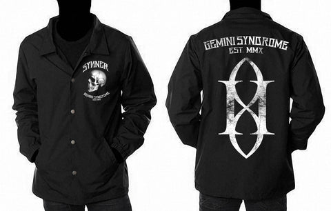 Original Synner Collared Windbreaker Jacket