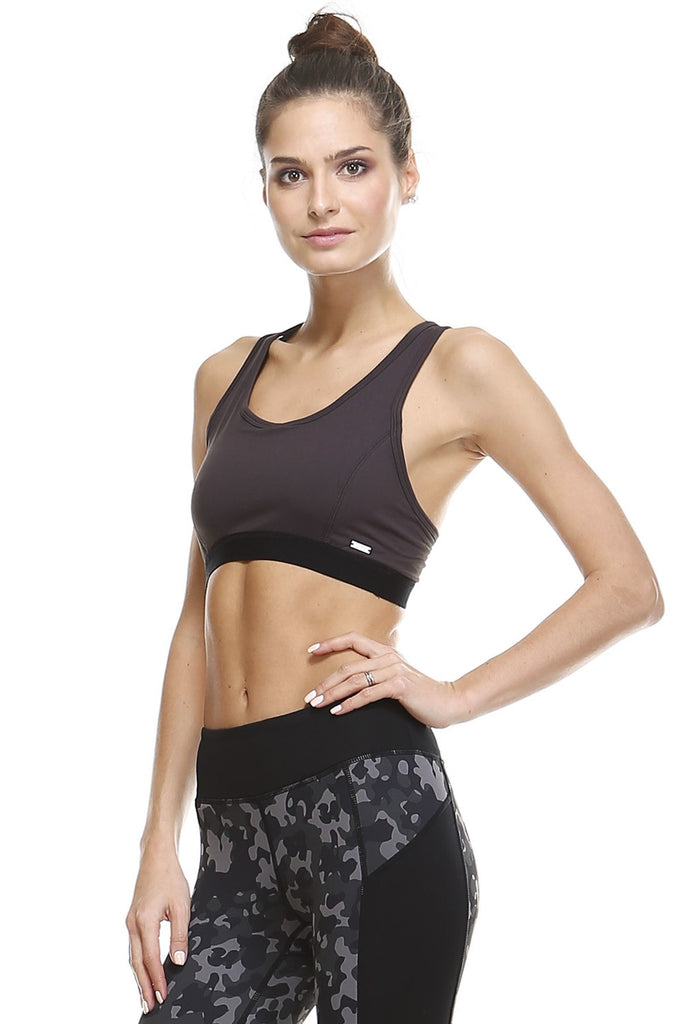 Run By The River Sports Bra