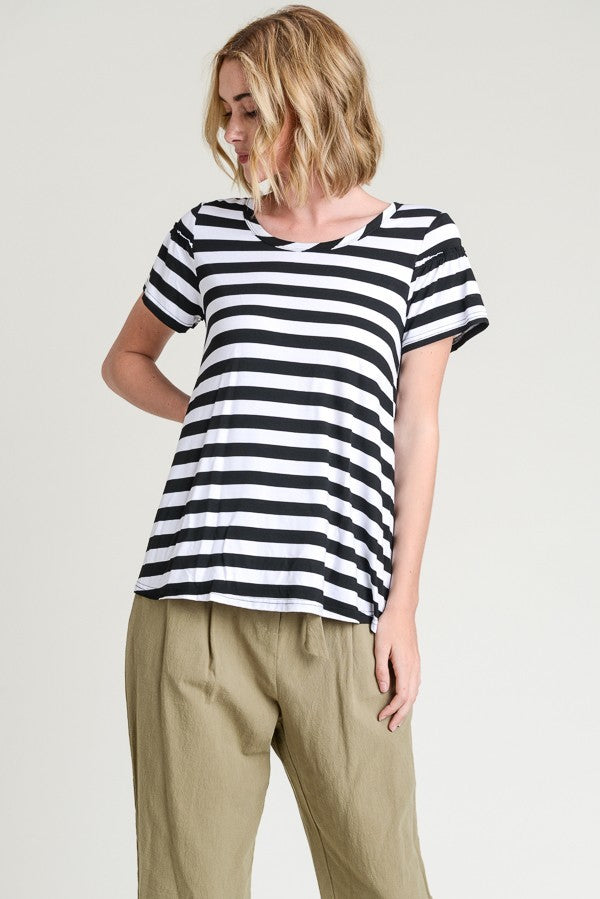 Feel good In Stripes Top
